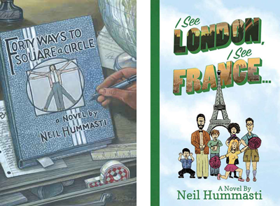 Forty Ways to Square a Circle & I See London, I See France... Covers